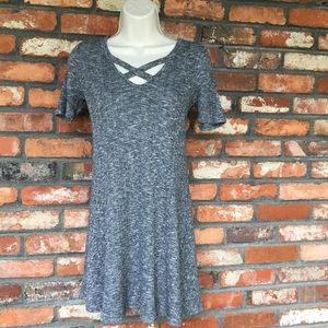 One Clothing Short Sleeve Sweater Dress